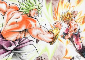 GOKU VS BROLY 2 by Crike99