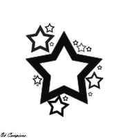 Star Tattoo Design by Oh-Campione
