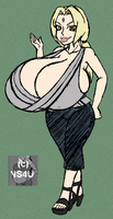 Oppai No Jutsu Color by overlordofnobodies
