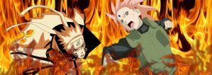 rikudou and strong by Bleach-Fairy