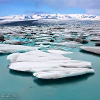 Joekulsarlon, Iceland by Nightline