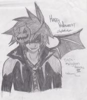 Happy Halloween From Sora by KingEdwardTheThird