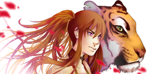 Kendra and tiger by SilvyChan