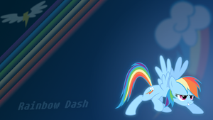 Rainbow Dash - Wallpaper by Internetianer