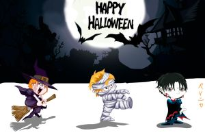 Skip Beat: Halloween time by be-nice