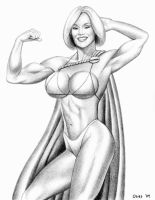 Powergirl 'Bikini Version' by Xenomorph71