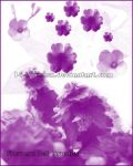 Flowers Set Brushes by 14th-division