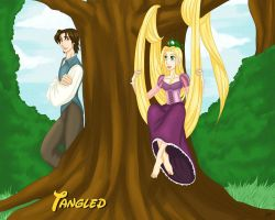 Tangled by x-Lilou-chan-x