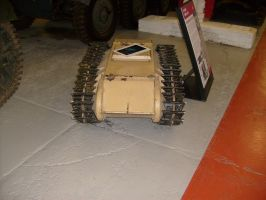 GOLIATH TRACKED MINE, TANK MUSEUM by drshaggy