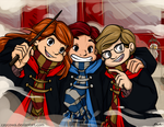 Commission - Back to Hogwarts by caycowa