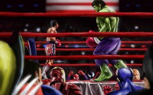Rocky VS Hulk by A-BB