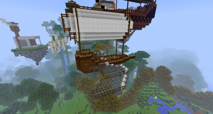 Airship (minecraft) by ColinGhastslayer