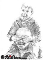 Group IV Grandpa N Grandson by arthim