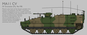 MA11 MAV(T) CV Production Standard [Coloured] by SixthCircle
