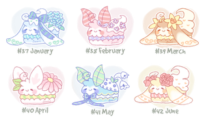 [CLOSED] Fluffbits #37 - 42 (Set Price) by Sarilain