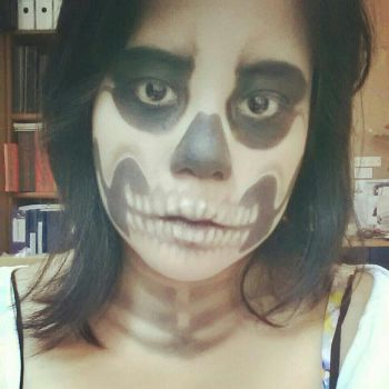 Skull Makeup 2012 by bomb109
