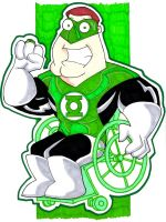 Green Lantern Joe by misfitcorner