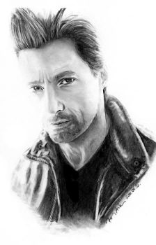 Hugh Jackman by Cast-al-ia