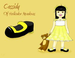 Cassidy of Heliodor Meadows by kittywhiskas