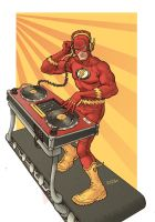 DJ Barry Allen by RamonVillalobos