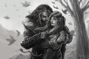 Thorin's Embrace by durinheir
