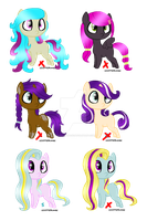 MLP Adoptable Batch - #5 - CLOSED by M00nlightMagic