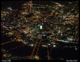 Downtown Dallas by Aideon