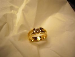 Solitaire Diamond ring by Debals