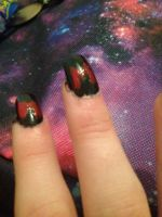 Nail art by Angelplier25