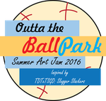 Outta the Ballpark Art Jam Logo by JWthaMajestic