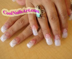 Cool Nails Design - Purple Fla by thientu83