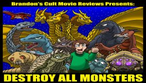 Brandon's Cult Movie Reviews: Destroy All Monsters by Enshohma