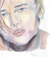 Leonardo Di Caprio in Romeo and Juliet by ClairBlueArt