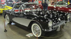 56 Chevy Corvette by zypherion