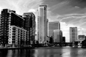 across the new dockland by awjay