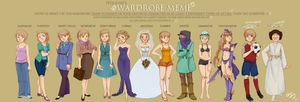 Amity has a wardrobe? by jeinu