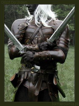 Drizzt Do'Urden -  lone by farmerownia