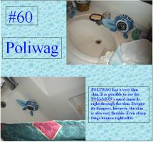 Pokemon Plush Project: Poliwag by CandleGhost