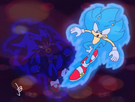 .:THERE CAN ONLY BE ONE SONIC:. by JoeyB1001