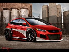 Ford Focus Redster by x-tomi