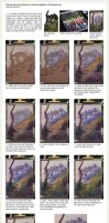 Soft pastels painting - Step by step by vanessa-lim