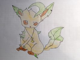 Me as a Leafeon with shading by Car-lover33