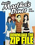Auntie Martha's Diner Part 1 by TGTony