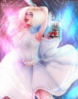 Happy Married | Harley Quinn by mcfle