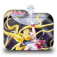 Bishoujo Senshi Sailor Moon Crystal 2 Folder Icon by Minacsky-saya