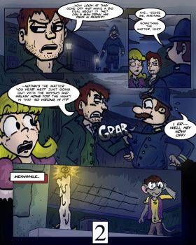 Keeping Up with Thursday Issue 1, page 2 by BestHeelofAllTime