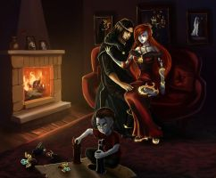 League of Legends - Family [Commission] by eollynheartilly