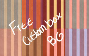 8 Free custom box backgrounds by NatsukiNoHana