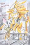 A mouse and her mech by kitfox-crimson