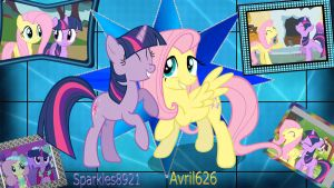 Gift for avril626! Fluttershy and Twilight! by Twilightsparkless